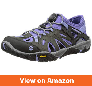 Merrell Women's All Out-Blaze Sieve Water Shoe – Best Water resistant hiking shoe