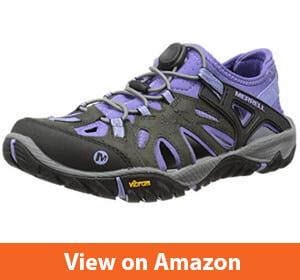 Merrell Women's All Out-Blaze Sieve Water Shoe – Best Water resistant hiking shoe