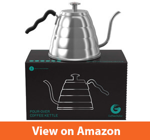 Coffee Gator Pour Over Kettle – Fastest electric kettles