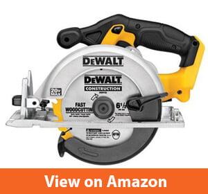 DEWALT DCS391B 20-Volt MAX Li-Ion Circular Saw (Tool Only)