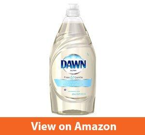 Dawn Free & Gentle Dishwashing Liquid– Hypoallergenic dishwashing liquid soap