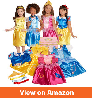 Disney Princess 21-Piece Deluxe Dress-Up Trunk