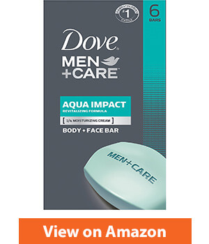 Dove Men+Care Body and Face Bar- Aromatic Revitalizing Bar