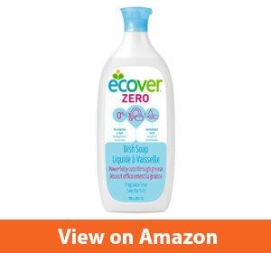 Ecover Zero Dish Soap – Best natural dishwashing liquid soap