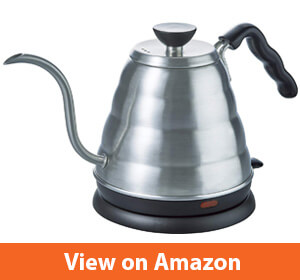 Hario V60 Buono Stainless Steel Gooseneck Coffee Kettle – A travel electric kettle