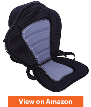 Luxury Adjustable Padded Kayak Seat
