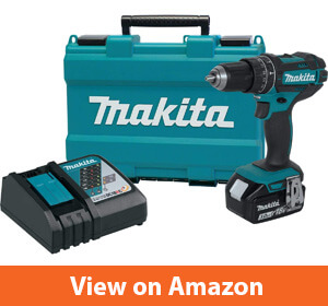 """Makita XPH102 18V LXT Lithium-Ion Cordless 1/2"""" Hammer Driver-Drill Kit (3.0Ah) (Discontinued by Manufacturer)"""