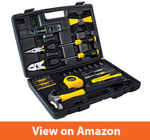 Stanley 94-248 65-Piece Homeowner's Tool Kit – Complete Tools For DIY Projects