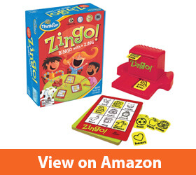 Think Fun Zingo Bingo Award Winning