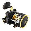 Isafish Spinning Reel Trolling Boat Fishing Reels Counter Alarm Bell Drum thumb