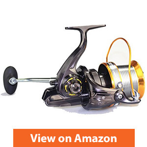 VAVO 9000 Big Spool Boat Fishing Reel 13 BB Sea Spinning Saltwater Trolling Reel