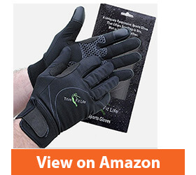 Windproof, Breathable Workout Gloves For Men And Women