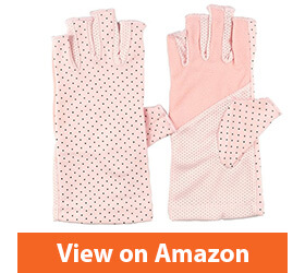 Women's Sunscreen Fingerless Gloves