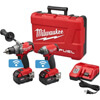 Milwaukee 2795-22 Fuel 18-Volt Lithium-Ion Brushless Cordless Hammer Drill/Impact Driver Combo Kit