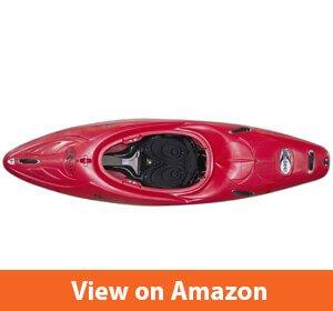Riot Kayaks Magnum 80 Whitewater Creeking Kayak (Red, 8-Feet)