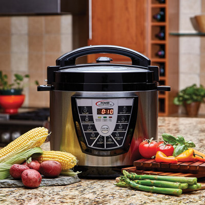 Special Features of Power Pressure Cooker XL 8 Quart