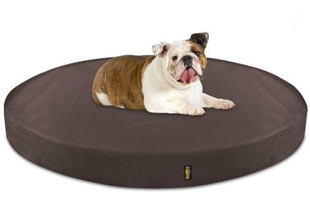 KOPEKS Deluxe Orthopedic Memory Foam Round Dog Bed