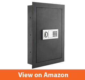 7725 Flat Electronic Wall Safe For Jewelry Security