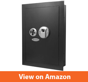 Barska Biometric Fingerprint Security Wall Safe