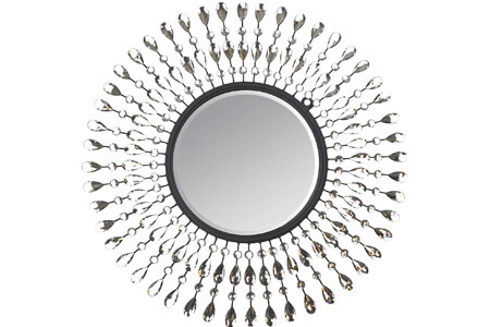 Lulu Decor, Pearl Drop Wall Mirror