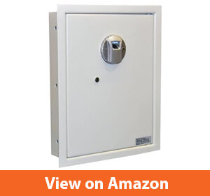 Protex Safe Fingerprint Wall Safe