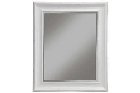 Sandberg Furniture White Wall Mirror