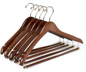 Quality Hangers Wooden Hangers