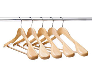 VINUSS Ezihom Wood Suit Hangers