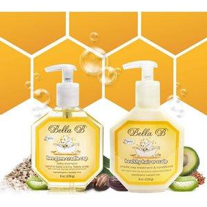 BELLA B Cradle Cap Shampoo & Cradle Cap Scalp Treatment And Conditioner