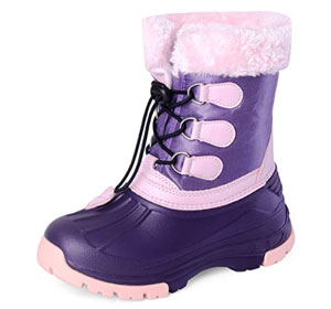 Nova Mountain Toddlers Waterproof Winter Snow Boots
